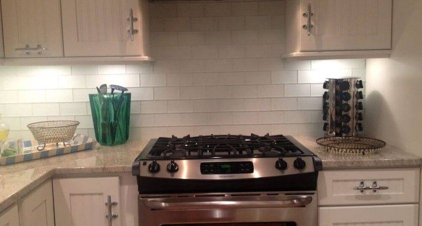 Best Faux Tile Backsplash Cabinet Hardware Room Paint