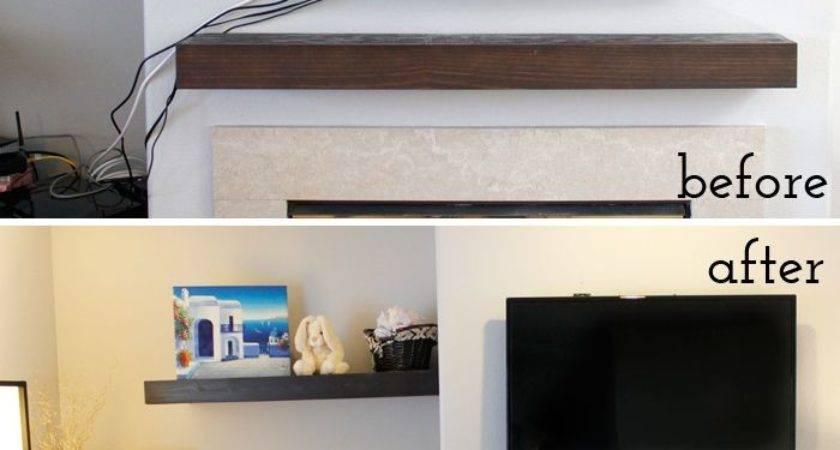Best Floating Shelf Under Ideas Pinterest