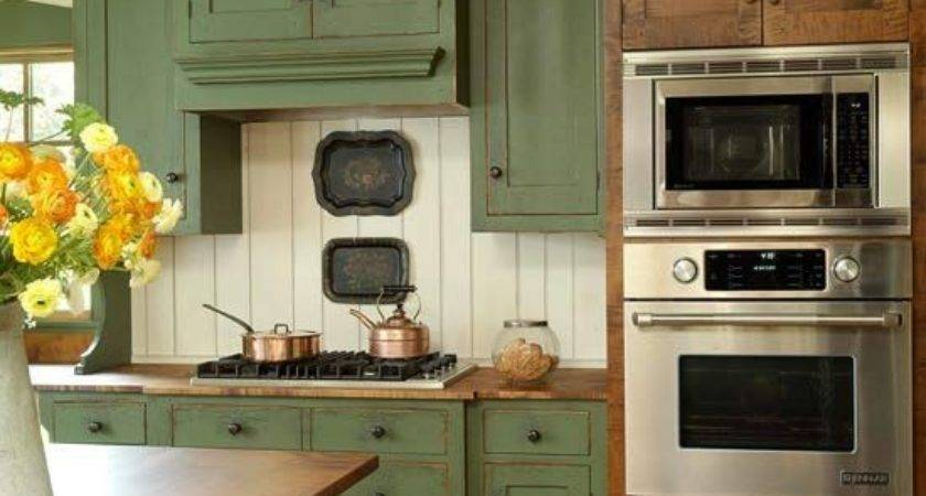 Best Green Country Kitchen Ideas Pinterest Grey