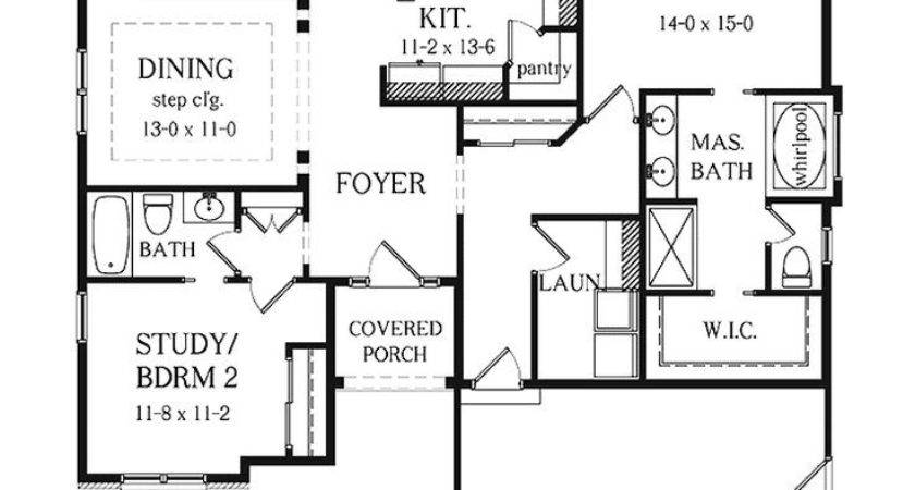 Best Ideas Bedroom House Plans Two Floor One