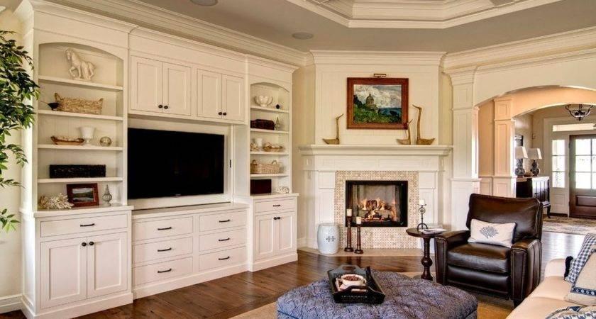 Best Ideas Corner Fireplace Living Room