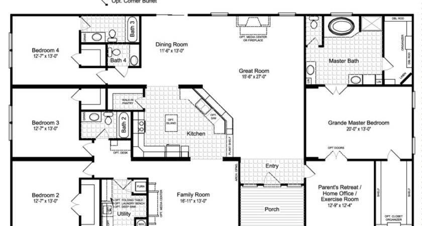 Best Ideas Manufactured Homes Floor Plans