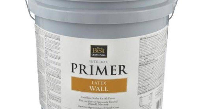 Best Latex Wall Interior Primer Int