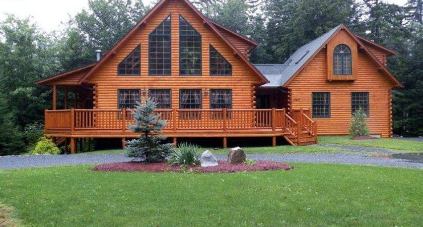 Best Log Cabin Mobile Homes Ideas Pinterest