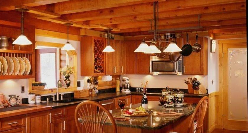 Best Log Homes Inside Out Pinterest
