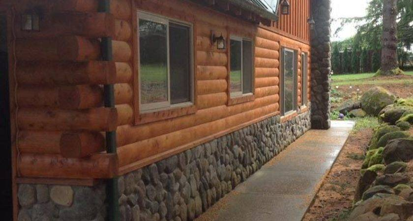 Best Log Siding Ideas Pinterest Cabin