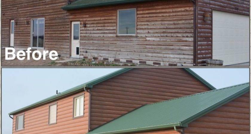 Best Log Siding Red Cedar Steel