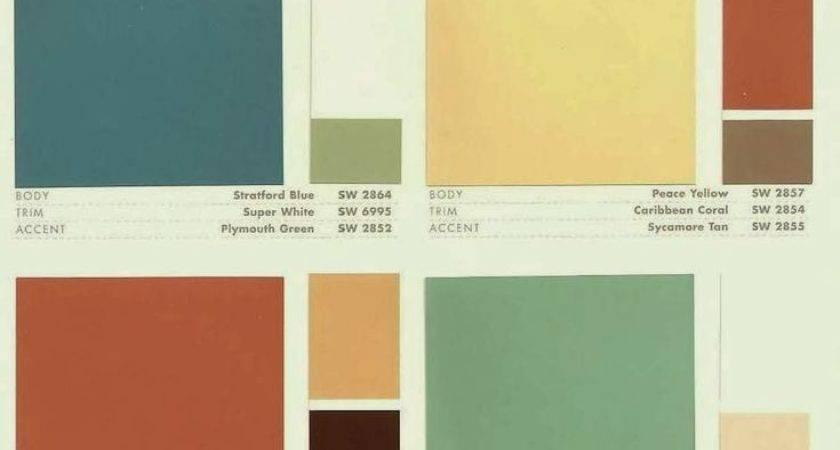 Best Mid Century Design Color Pinterest