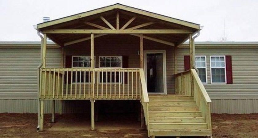 Best Mobile Home Porch Ideas Pinterest