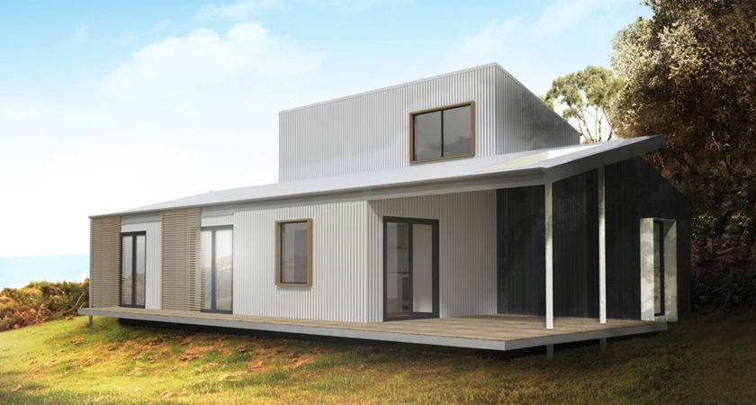 Best Modern Prefab Home Design Flat Roof Ideas