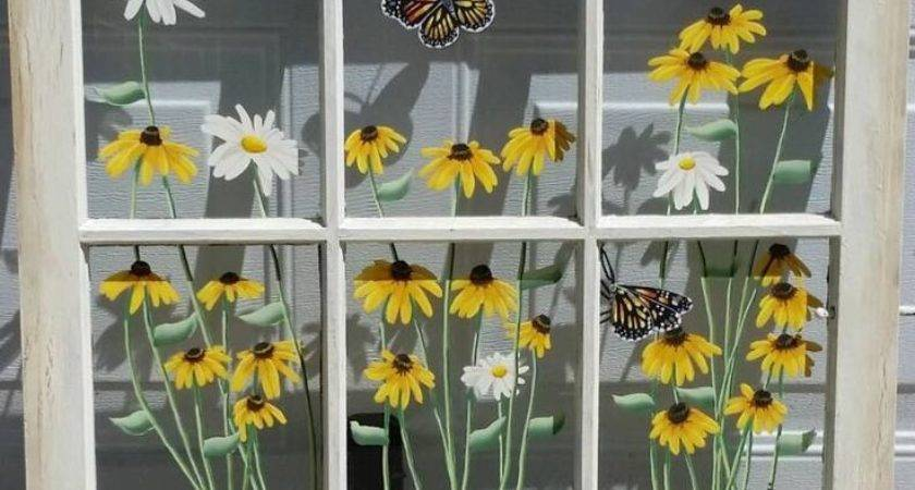 Best Old Windows Painted Ideas Pinterest