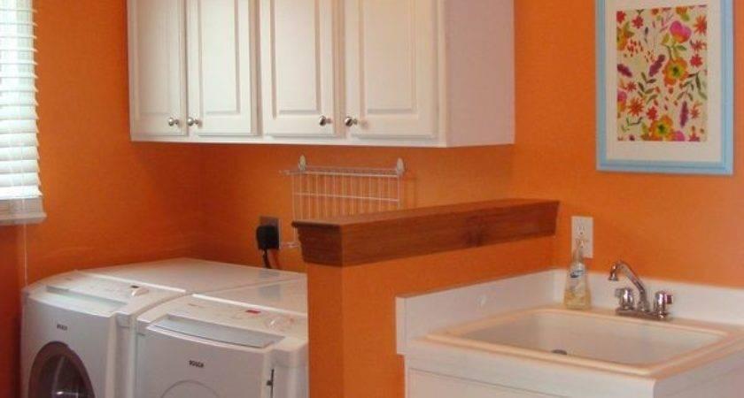 Best Orange Laundry Rooms Ideas Pinterest Room