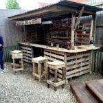 Best Outdoor Pallet Bar Ideas Pinterest