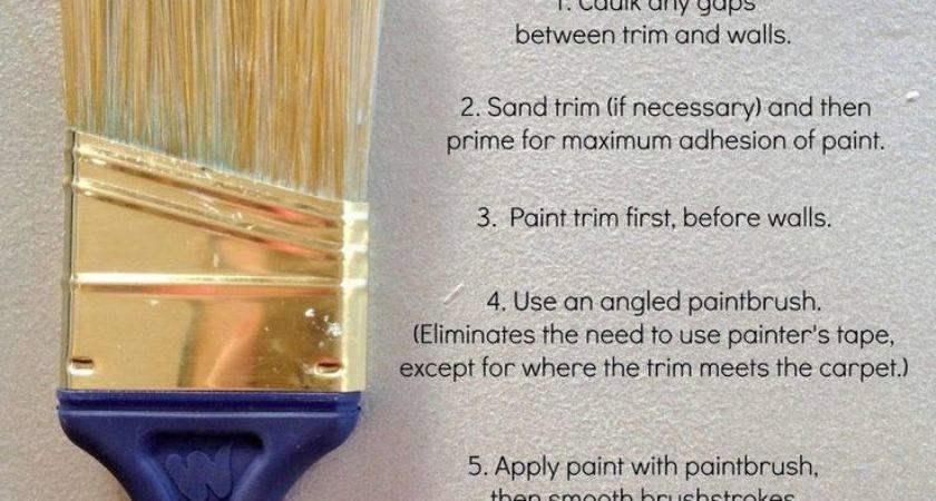 Best Painting Trim Tips Ideas Pinterest Paint