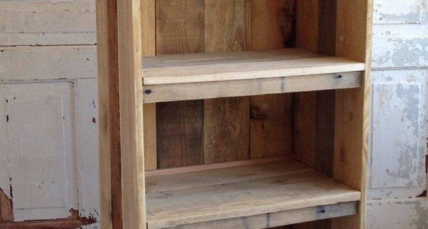 Best Pallet Bookcases Pinterest Woodworking