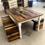 Best Pallet Dining Tables Ideas Pinterest
