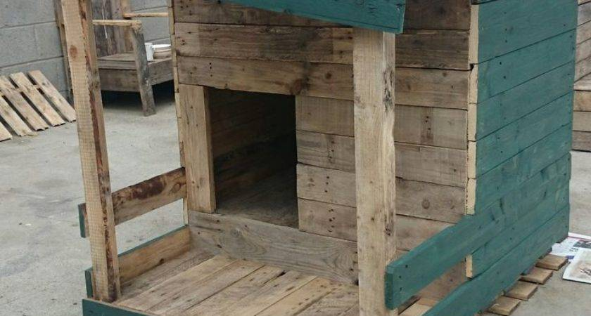 Best Pallet Dog House Ideas Pinterest Diy