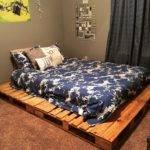 Best Pallet Platform Bed Ideas Pinterest Diy