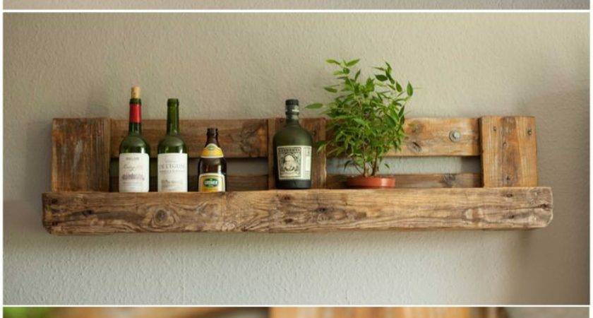 Best Pallet Shelves Ideas Pinterest