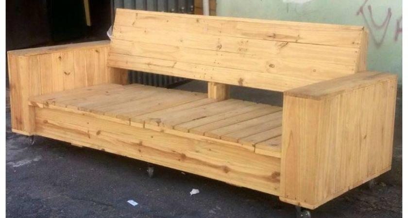 Best Pallet Sofa Ideas Pinterest Furniture