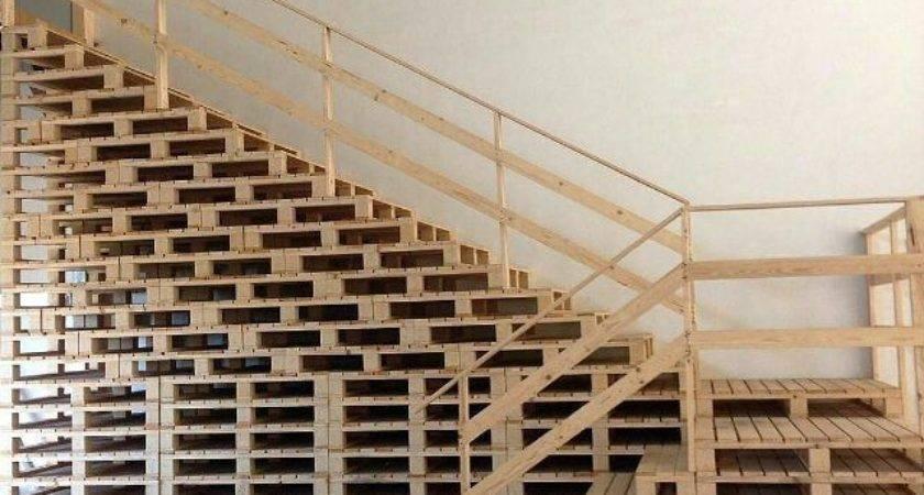 Best Pallet Stairs Ideas Pinterest