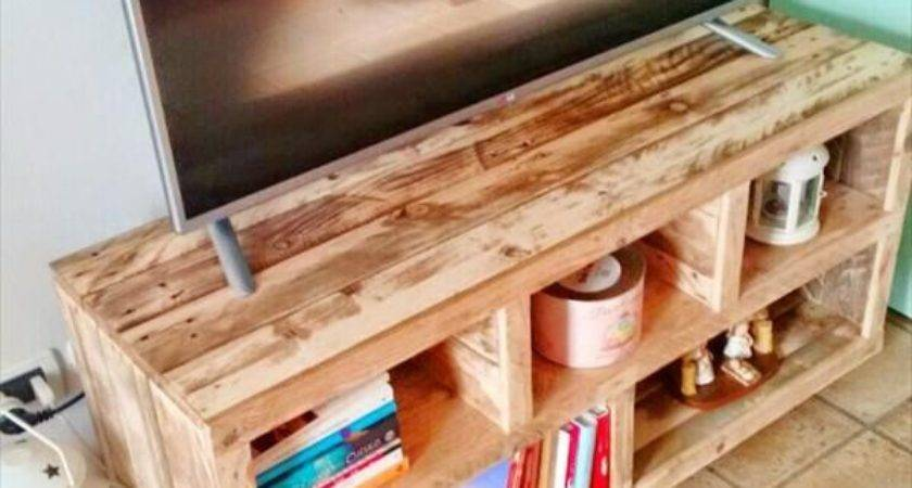Best Pallet Stands Ideas Pinterest Make