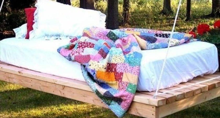 Best Pallet Swing Beds Ideas Pinterest