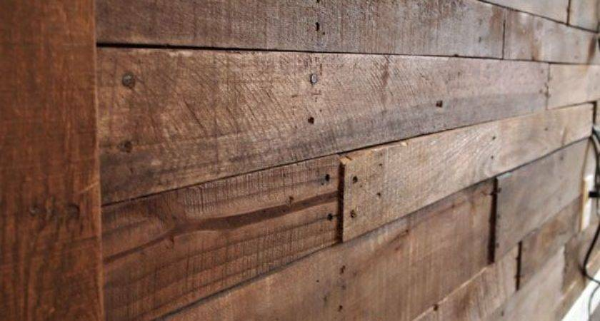 Best Pallet Wood Walls Ideas Pinterest