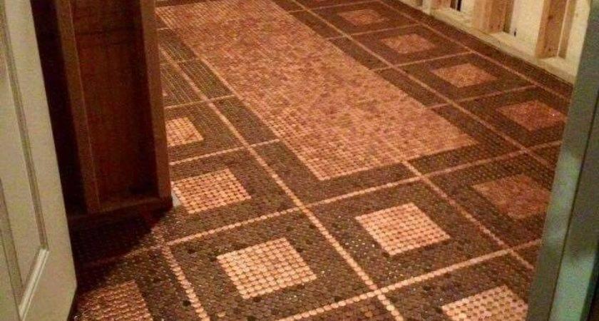 Best Penny Crafts Pinterest Pennies Floor