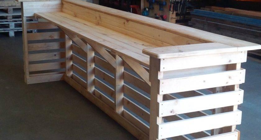 Best Picket Pallet Bar Diy Ideas Your Home