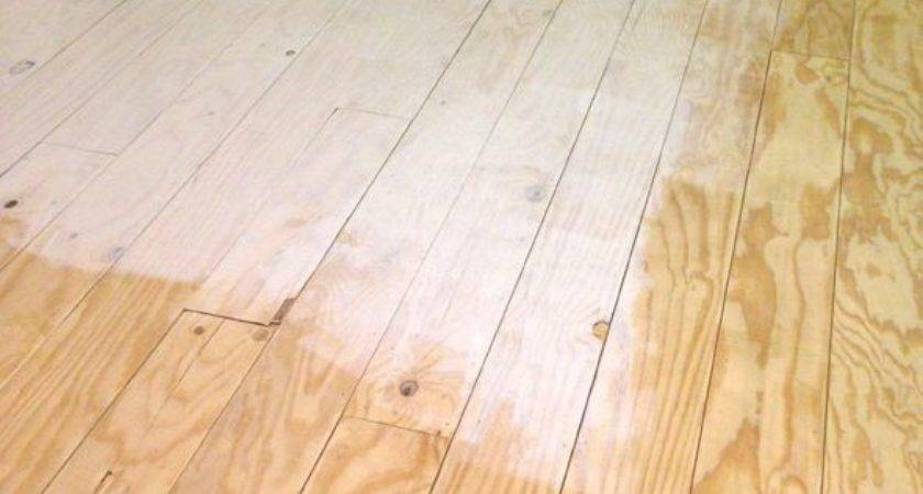 Best Plywood Floors Ideas Pinterest Stained