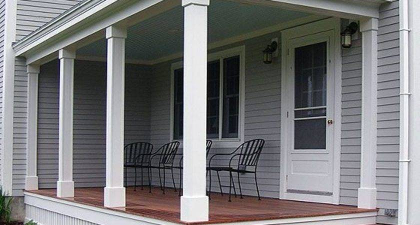 Best Porch Columns Ideas Pinterest Front