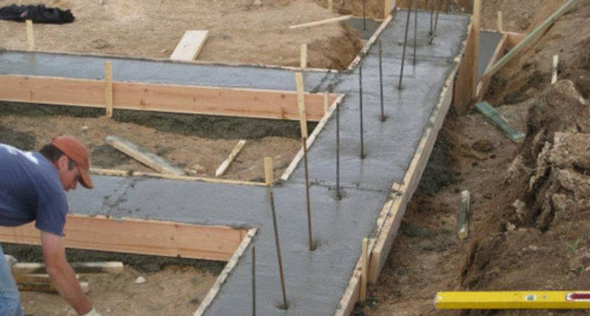 Best Practice Insert Rebars Concrete Footer