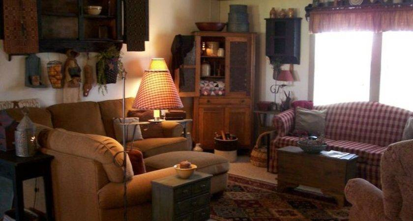 Best Primitive Americana Living Room Ideas