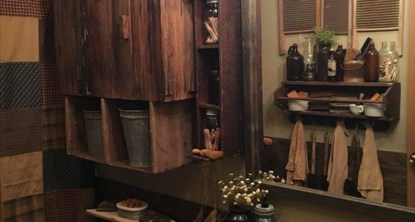 Best Primitive Bathrooms Pinterest