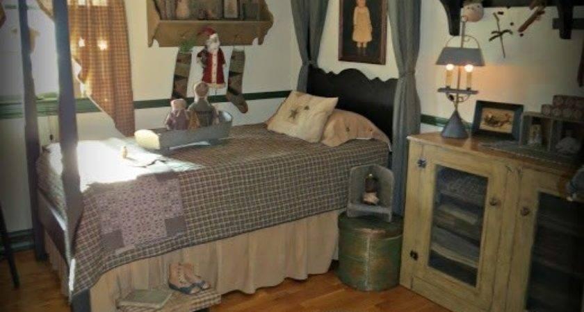 Best Primitive Bedrooms Pinterest