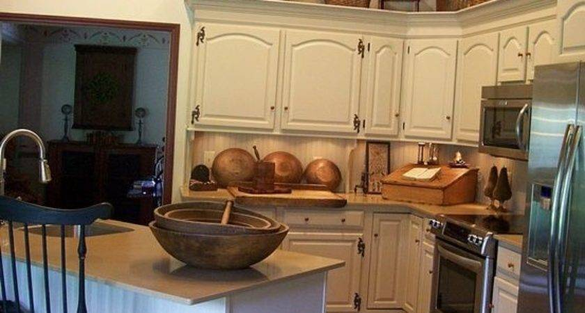 Best Primitive Kitchen Cabinets Ideas Pinterest