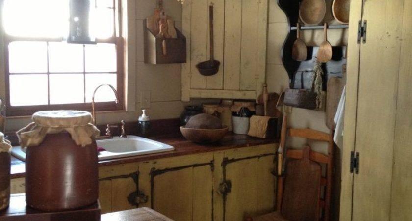 Best Primitive Kitchen Ideas Pinterest Old