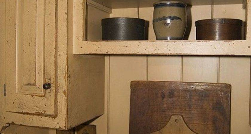 Best Primitive Kitchens Pinterest Cottage