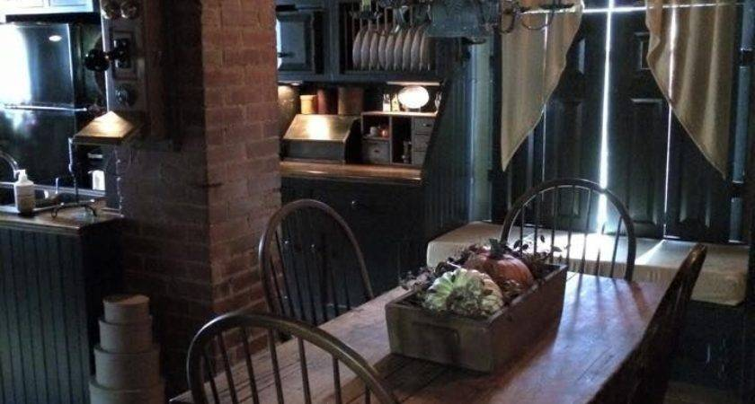 Best Primitive Kitchens Pinterest Country