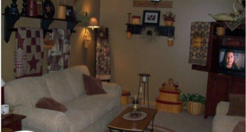 Best Primitive Livingroom Pinterest