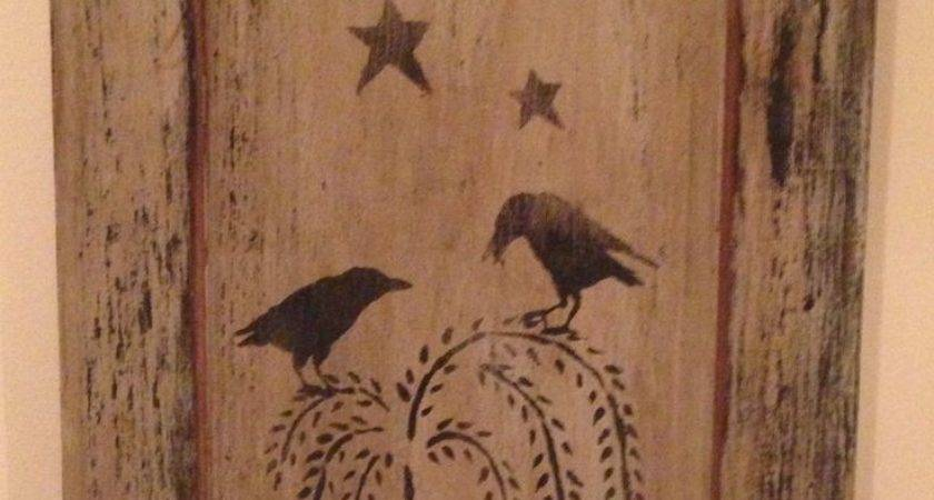 Best Primitive Wood Signs Ideas Pinterest