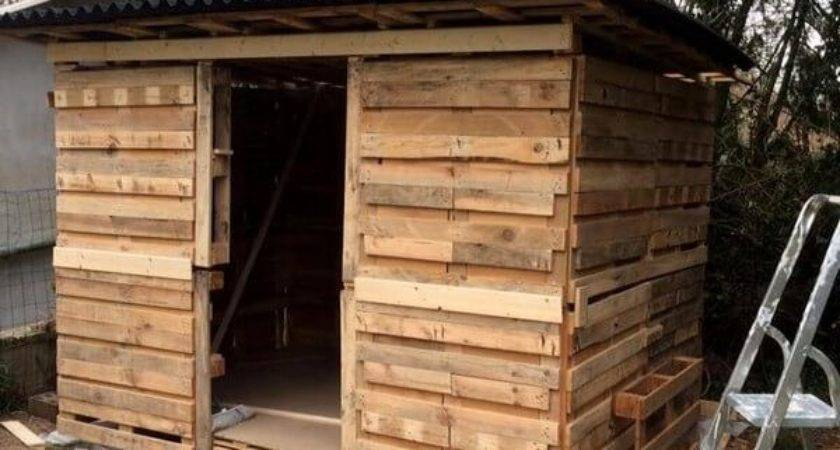 Best Recycle Wood Pallet Shed Ideas Pallets Designs