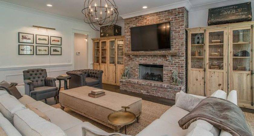 Best Red Brick Fireplaces Ideas Pinterest