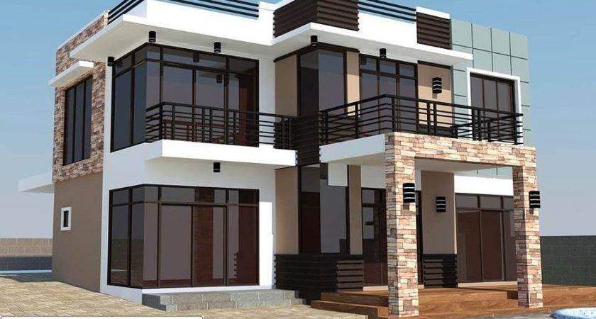 Best Rommell One Storey Modern Roof Deck Eplans