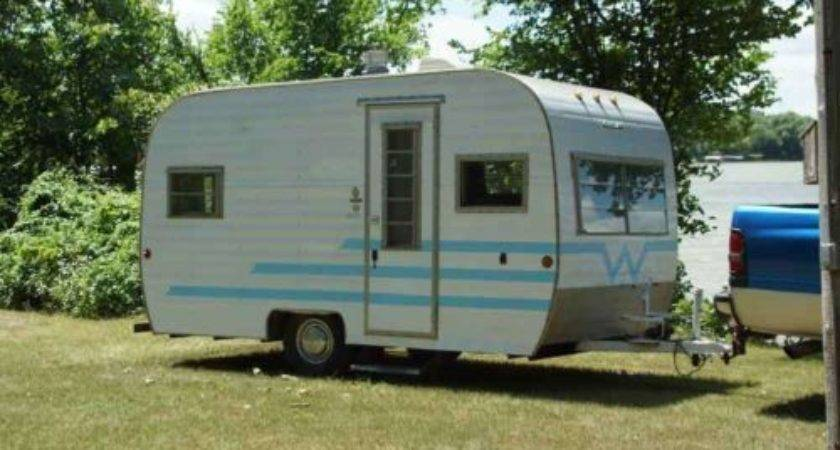 Best Sale Vintage Winnebago Canned Ham