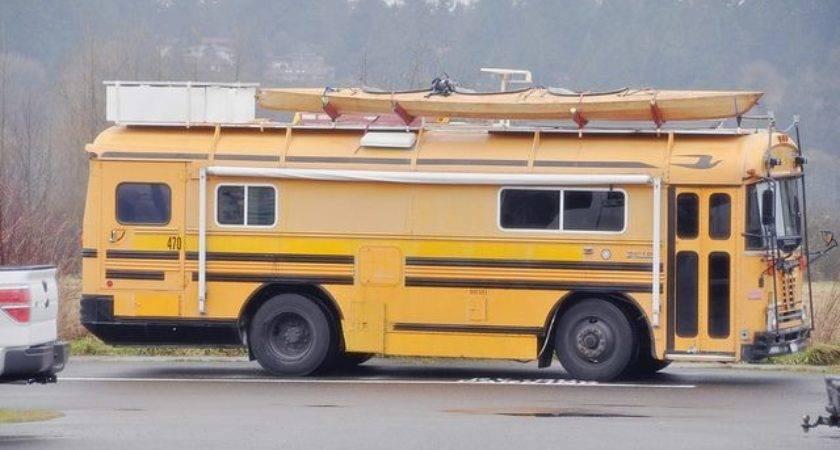 Best School Bus Conversion Pinterest