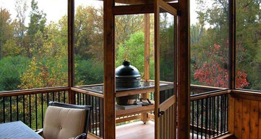Best Screened Back Porches Ideas Pinterest