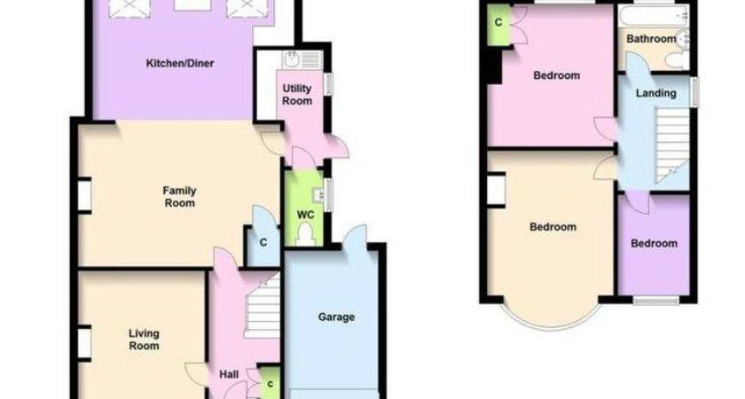 Best Semi Detached Floor Plan Ideas Pinterest