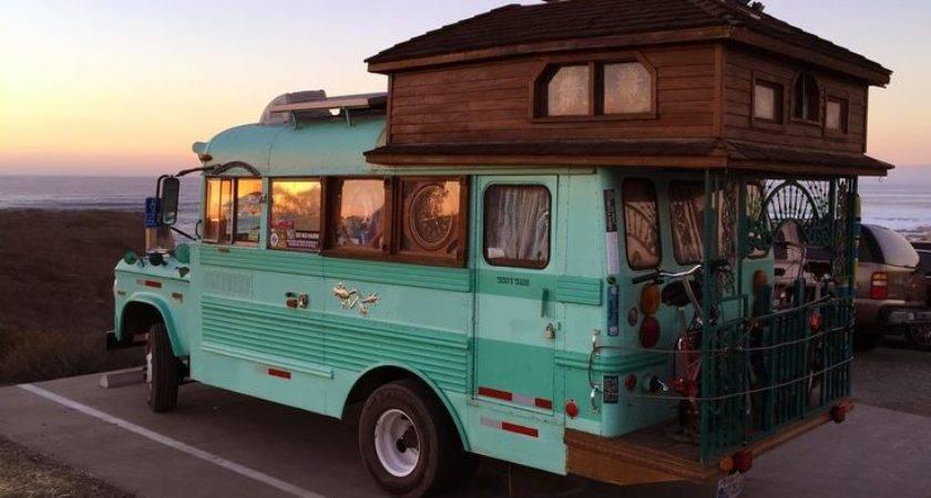 Best Short Bus Pinterest Gypsy Caravan